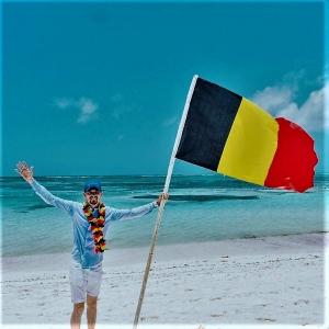 Allez  les Belges, avec Boris